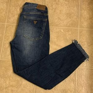 Guess 7/8 jeans size 26